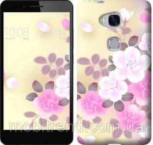 Чехол на Huawei Honor 5X Японские цветы