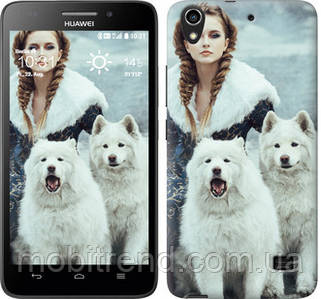 Чехол на Huawei Honor 4 Play Winter princess
