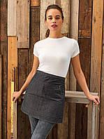 Фартук джинсовый для официанта, бармена короткий Atteks  - 00232, фото 1