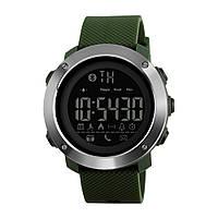 Skmei 1285 small зеленые мужские  спортивные смарт часы, фото 1