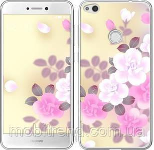 Чехол на Huawei P8 Lite (2017) Японские цветы