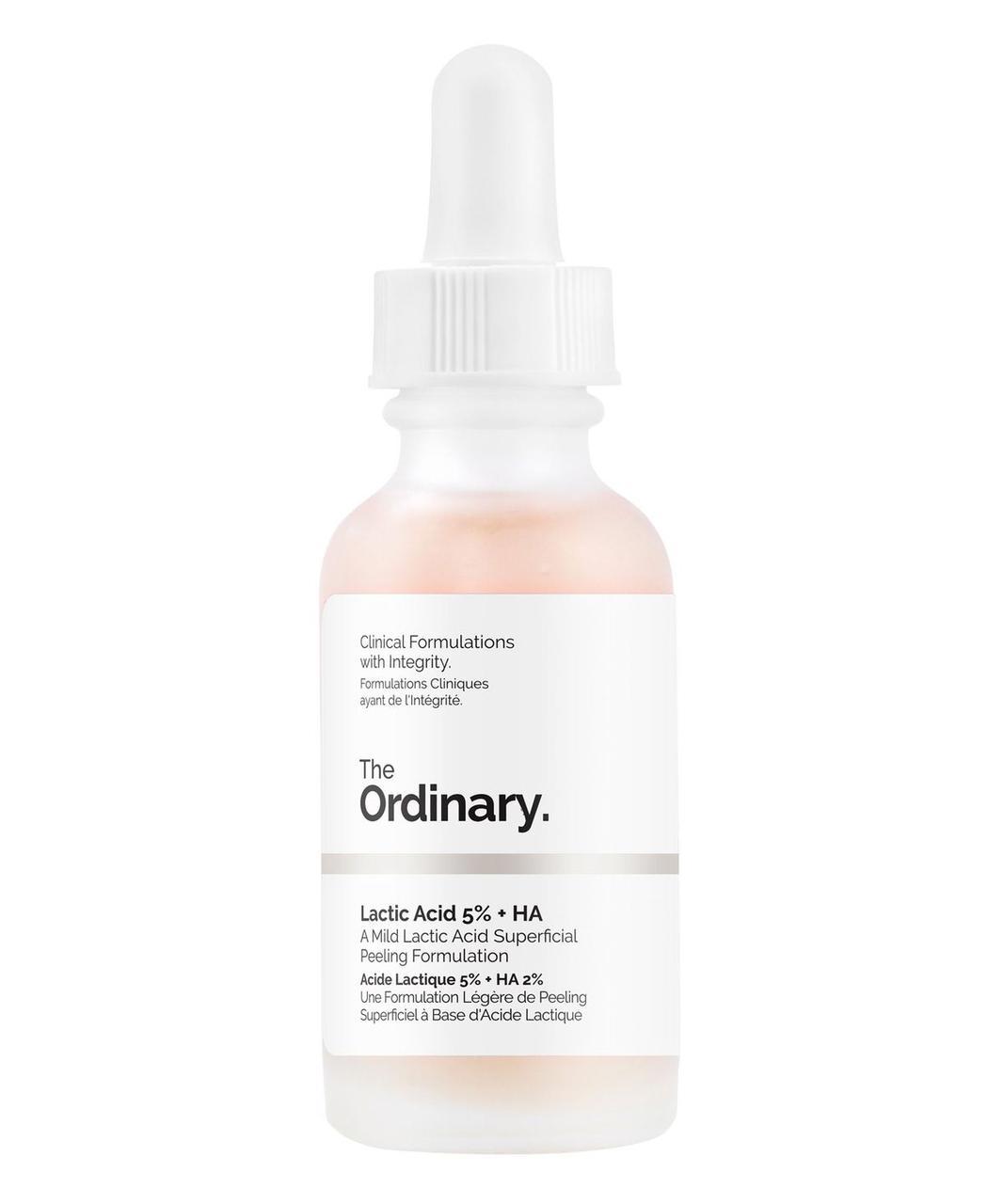Пилинг с молочной кислотой The Ordinary Lactic Acid 5%