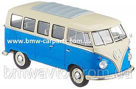 Модель автомобиля Volkswagen T1 Samba Van (1962), Scale 1:18