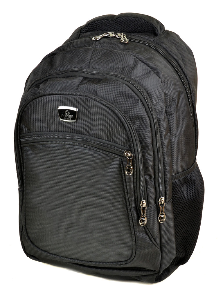 Городской рюкзак из нейлона Power In Hand 7813 black, фото 1