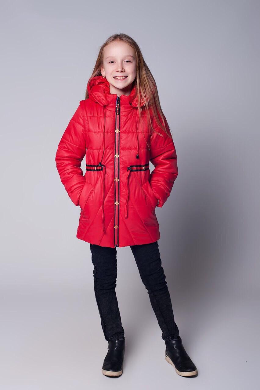 Модная детская подростковая куртка-жилетка весна-осень 134-152