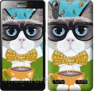 Чехол на Lenovo K3 (K30-t) Cat&Coffee