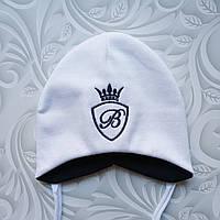 Легкая детская шапка с завязками Billionaire, фото 1