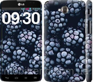 Чехол на LG G Pro Lite Dual D686 Морозная ежевика