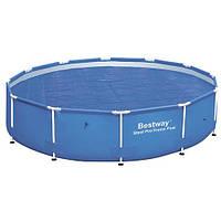 Тент для каркасного круглого бассейна BestWay 58242