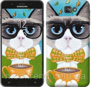 Чехол на Samsung Galaxy J7 Prime Cat&Coffee