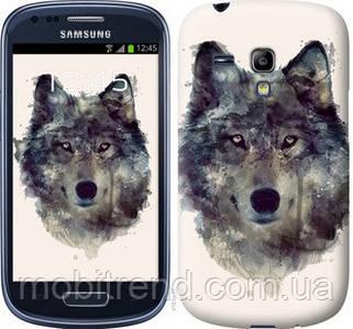 Чехол на Samsung Galaxy S3 mini Волк-арт