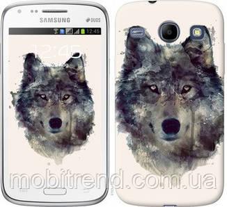 Чехол на Samsung Galaxy Core i8262 Волк-арт