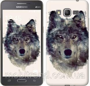 Чехол на Samsung Galaxy Grand Prime G530H Волк-арт