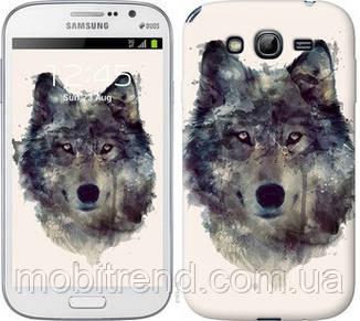 Чехол на Samsung Galaxy Grand Neo I9060 Волк-арт