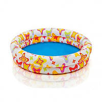Детский бассейн Тропические рыбки интекс 59421