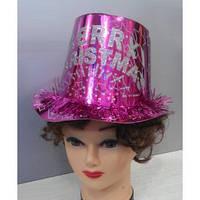 Шляпа цилиндр бумажный