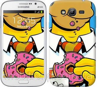 Чехол на Samsung Galaxy Grand Neo I9060 Гомер с пончиком