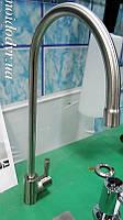 Кран для систем фильтрации воды (никель, inox)