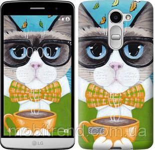 Чехол на LG Ray / X190 Cat&Coffee