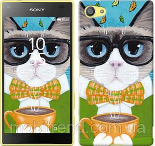 Чехол на Sony Xperia Z5 Compact E5823 Cat&Coffee