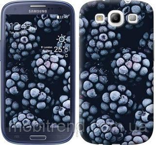 Чехол на Samsung Galaxy S3 i9300 Морозная ежевика