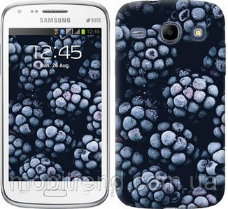 Чехол на Samsung Galaxy Core i8262 Морозная ежевика