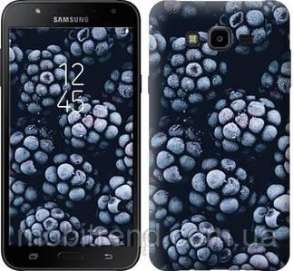 Чехол на Samsung Galaxy J7 Neo J701F Морозная ежевика