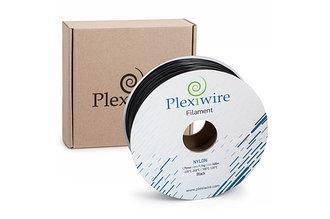 Пластик в котушці Nylon 1,75 мм 1.1кг/400 м, Plexiwire, Чорний, фото 2