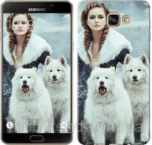 Чехол на Samsung Galaxy A9 A9000 Winter princess