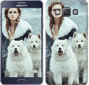 Чехол на Samsung Galaxy A5 A500H Winter princess