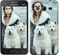 Чехол на Samsung Galaxy Core 2 G355 Winter princess