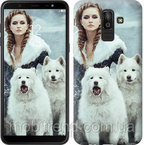 Чехол на Samsung Galaxy J8 2018 Winter princess