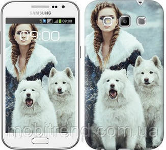 Чехол на Samsung Galaxy Win i8552 Winter princess