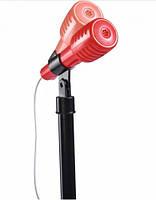 """Іграшковий мікрофон """"Диско"""" на стійці 50-100 см My Music World 4 ритму диско-куля підключення телефону"""