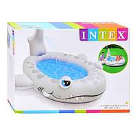 Бассейн надувной детский Акула INTEX 57433