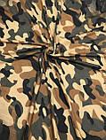 Армійський хустку бавовняний на голову 95х95 см (кол.10), фото 3