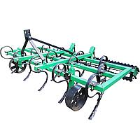 Культиватор пружинный КН-1,8П с грудобоем для минитрактора, трактора