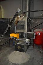 Котельная, мощностью 120 кВт с комбинированным котлом DM-STELLA  - обеспечивает теплом и горячей водой промышленную прачечную площадью 570 м2