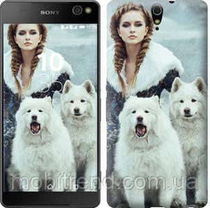 Чехол на Sony Xperia C5 Ultra Dual E5533 Winter princess