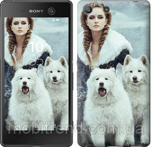 Чехол на Sony Xperia M5 E5633 Winter princess