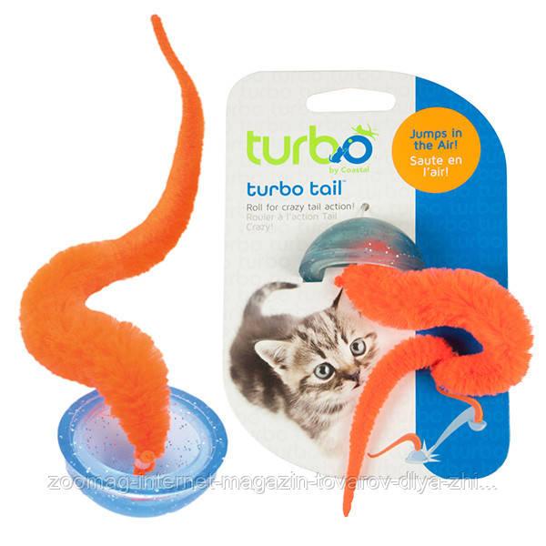 """Прыгающая интерактивная игрушка """"Оранжевый Хвост"""" для котов Coastal™"""