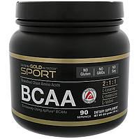 BCAA аминокислоты, California Gold Nutrition, 454 грамма