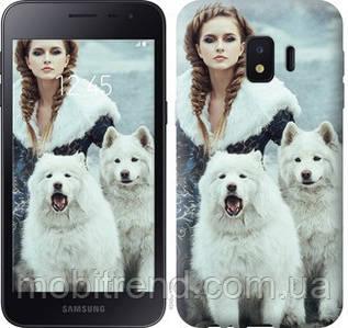Чехол на Samsung Galaxy J2 Core Winter princess