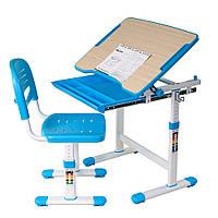 Комплект FunDesk Парта и стул-трансформеры Piccolino Blue