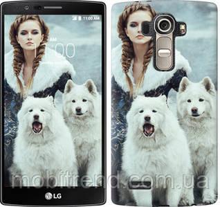 Чехол на LG G4 H815 Winter princess
