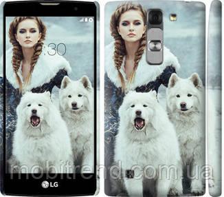 Чехол на LG G4c H522y Winter princess