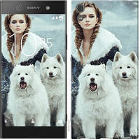 Чехол на Sony Xperia XA1 Ultra G3212 Winter princess