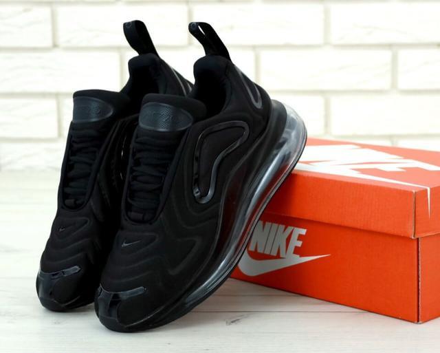 Кроссовки мужские Nike Air Max 720 Black фото