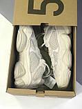 Женские кроссовки в стиле Adidas Yeezy Boost 500 Blush, Адидас Изи буст 500 (Реплика ААА), фото 2