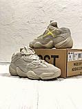 Женские кроссовки в стиле Adidas Yeezy Boost 500 Blush, Адидас Изи буст 500 (Реплика ААА), фото 5
